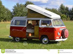 Volkswagen Camping Car : retro car volkswagen bus 1969 camping model stock photo ~ Melissatoandfro.com Idées de Décoration