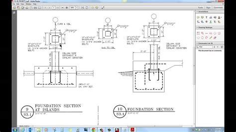 structural drafting project  badding columns  shear
