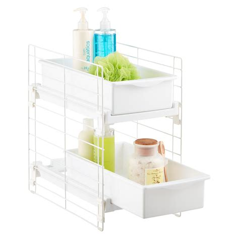 sliding  drawer organizer  container store