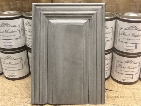 kitchen cabinet paints and glazes this cabinet door has zinc glaze couture top of 7896