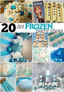 20, Diy, Frozen, Party, Ideas, With, Images