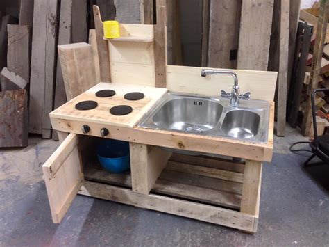 Outside Patio Bar Ideas by Pallet Mud Kitchen With Sink 99 Pallets