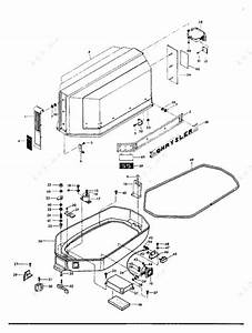 Chrysler 55 1975  Engine Cover And Support Plate