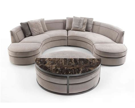 Divani Frigerio by Sofa Borromeo Light Beige Vittoria Frigerio By Frigerio
