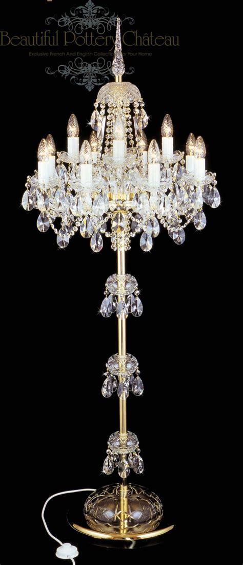 beautiful chandelier beautiful pottery bohemian crystals standing chandelier