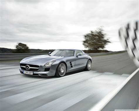 Mercedes-benz Sls Amg Supercar 4k Hd Desktop Wallpaper For