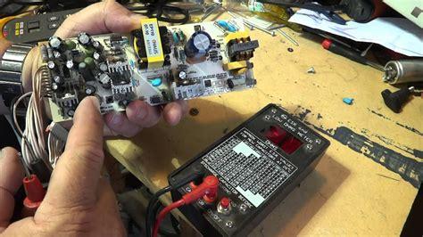 Power Supply Repair - YouTube