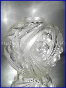 Gros Vase En Verre : 1920 30 d gu ron degu et cazaux gros vase en verre souffl moul art d co ~ Teatrodelosmanantiales.com Idées de Décoration