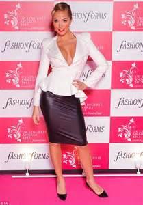 georgia salpa wears sheer lace corset  bust boosting