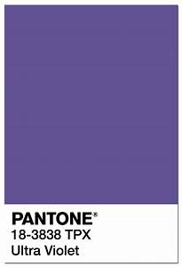 Pantone Color of the Year 2018: PANTONE 18-3838 Ultra