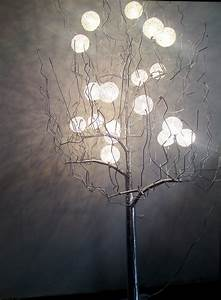 tree lamp a nice addition to your home designinyou With floor lamp looks like tree