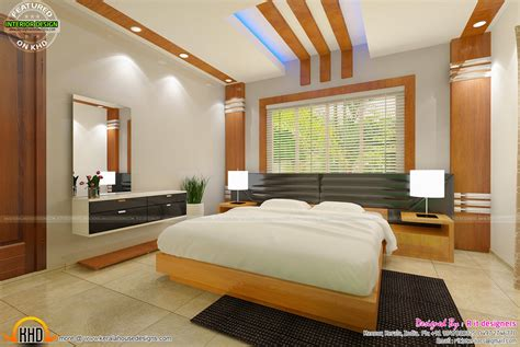 Bedroom interior design with cost - Kerala home design and