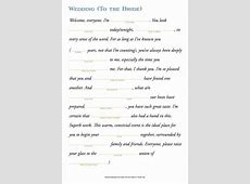 Maid Of Honor Speech Template Beautiful Template Design