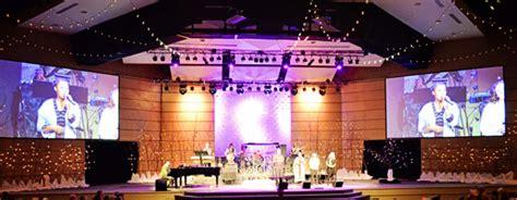 twiggy decor church stage design ideas