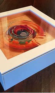 3D Painting: Layered Resin and Acrylic Paint | 3d resin ...