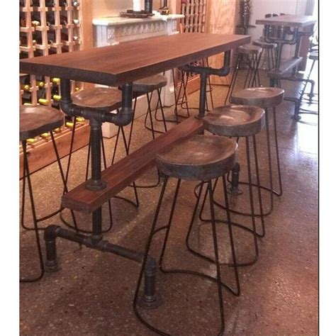 american country vintage wrought iron tables and