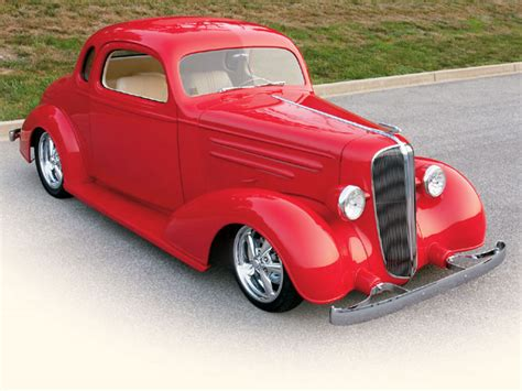 1936 Chevrolet Coupe Red & Rare  Hot Rod Network