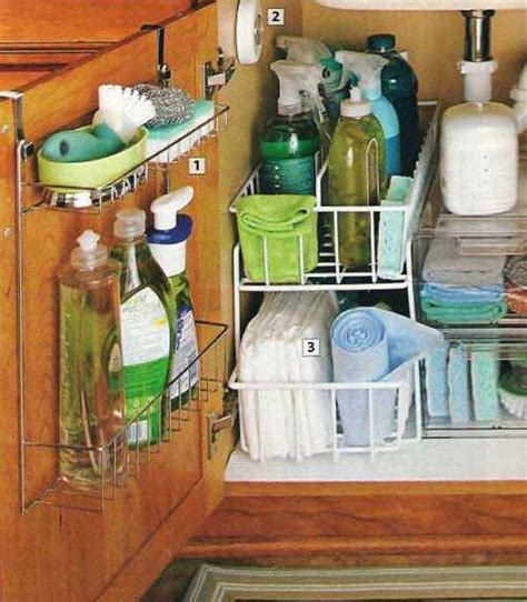 kitchen sink organizing ideas 37 diy hacks and suggestions to improve your kitchen