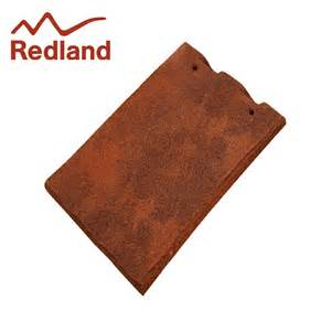 redland rosemary clay craftsman roof tile sanded