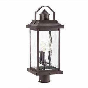 shop kichler linford 2213 in h olde bronze post light at With kichler outdoor pole lighting
