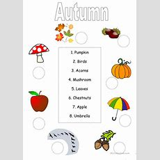 57 Free Esl Autumn Worksheets