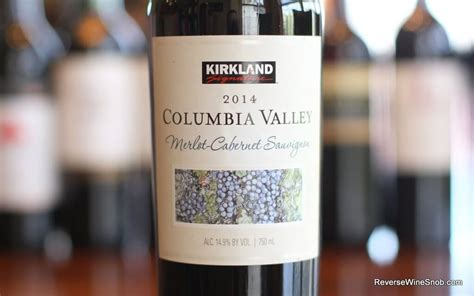 kirkland cabernet signature merlot columbia valley sauvignon wine costco keeper shopping reversewinesnob