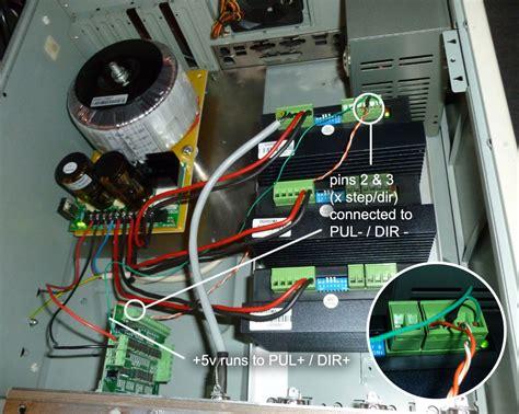 wiring db251205 dq860ma driver dq542ma driver cnc