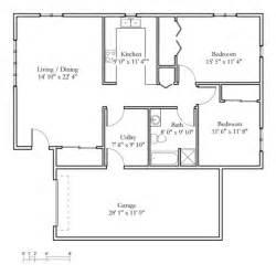 Bedroom Retirement House Plans Image