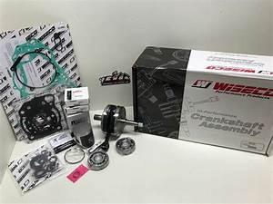 Yamaha Yz 250 Engine Rebuild Kit Crankshaft  Piston