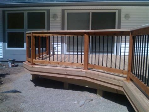 deck railing ideas cheap and easy home design ideas