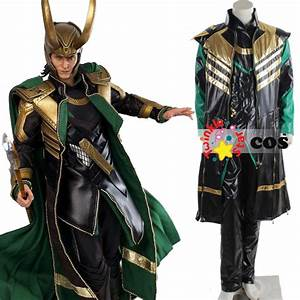 2015 Halloween costumes for adult Loki Marvel The Avengers ...