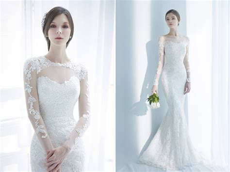 Classic And Elegant Wedding Dresses With Beautiful Lace