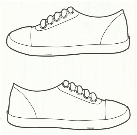 shoe template clipart boy template shoes clipground
