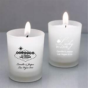 personalized las vegas candle holder las vegas wedding With personalized candle holders wedding favors