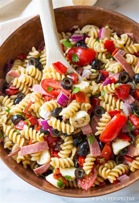 italian pasta salad recipe keeprecipes