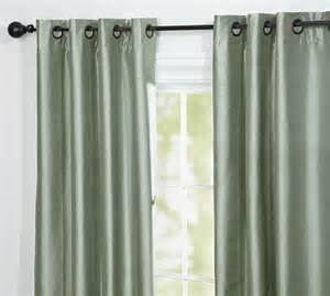 pottery barn dupioni silk grommet drapes decor look alikes