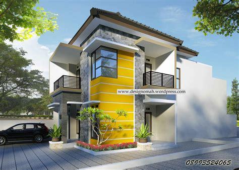 contoh desain rumah modern minimalis  lantai terbaru yg