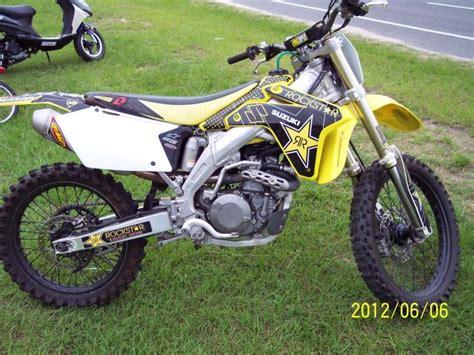suzuki motocross bikes for sale 2006 suzuki rmz450 dirt bike