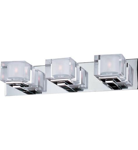 polished chrome desk accessories maxim lighting 10003clpc cubic polished chrome 3 light