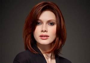 Coupe Cheveux Tete Ronde : coiffure cheveux mi long tete ronde ~ Melissatoandfro.com Idées de Décoration