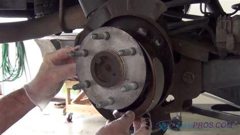 parking brake shoe replacement   chevrolet tahoe