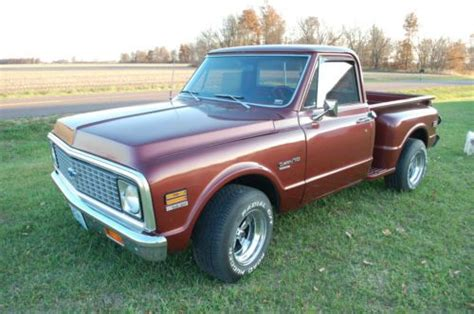 Find Used 1972 Chevy Stepside Truck~sharp In Bethel