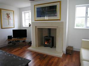 Contemporary, Plain, And, Simple, Stone, Fireplace, Templestone, Co, Uk