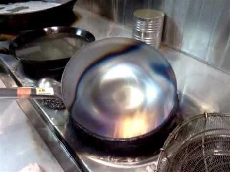 professional season  carbon steel wok youtube