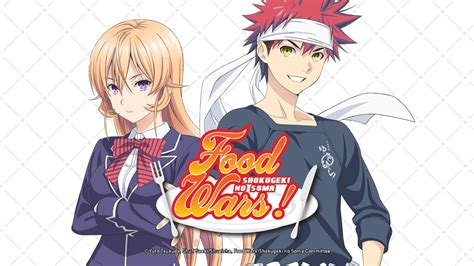 food wars shokugeki  soma anime trailer youtube