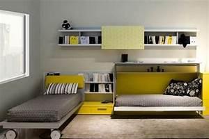 Chambre Gain De Place : meubles fuscielli nice 06 meubles gain de place contemporains chambre composable paretti ~ Farleysfitness.com Idées de Décoration