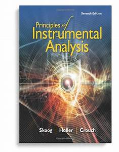 Principles Of Instrumental Analysis 7th Edition  U2013  Ebook Pdf