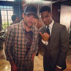 Kid Cudi On The Set Of Entourage Movie Home Of Hip Hop