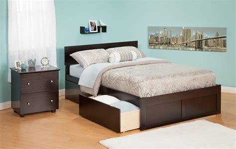 size bed with drawers espresso size bed with drawer bedding storage