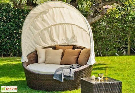canapé lit de qualité canapé lit de jardin en rotin synthétique avec matelas